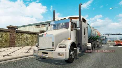 Una colección de camiones de transporte para el  para Euro Truck Simulator 2