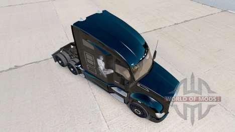 La piel de Taylor en el tractor Kenworth para American Truck Simulator