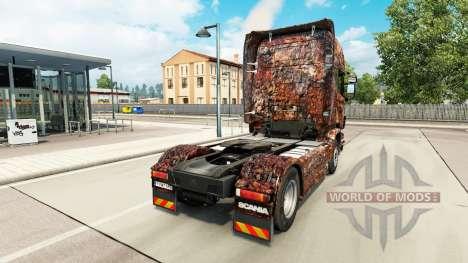 Ferrugem de la piel para Scania camión para Euro Truck Simulator 2