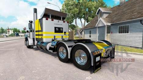 Скин-Plateado amarillo metálico на Peterbilt 389 para American Truck Simulator