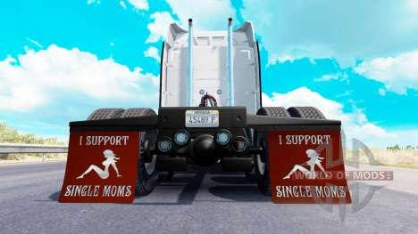 Guardabarros yo Apoyo a Madres Solteras v1.7 para American Truck Simulator