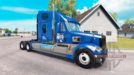 De la piel para ABCO camión Freightliner Coronad para American Truck Simulator