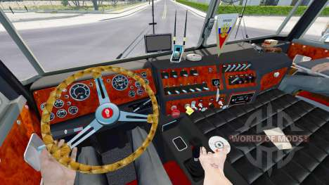 Kenworth K100 v2.0 para American Truck Simulator