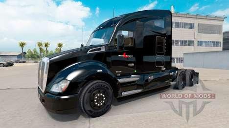 Stevens Transporte de la piel para Kenworth trac para American Truck Simulator