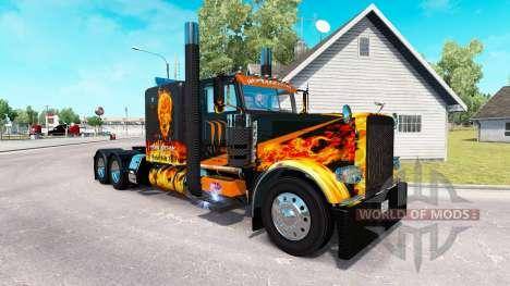 El inframundo de la piel para el camión Peterbil para American Truck Simulator