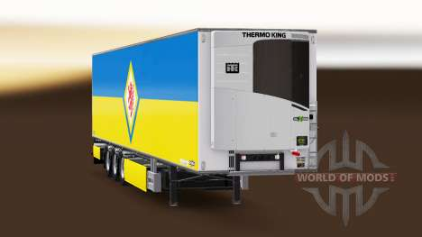 Semi-Remolque Chereau, Eintracht Braunschweig para Euro Truck Simulator 2