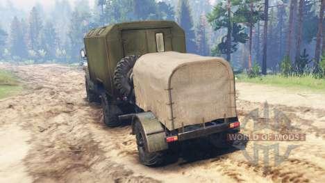 Ural-43206-41 para Spin Tires