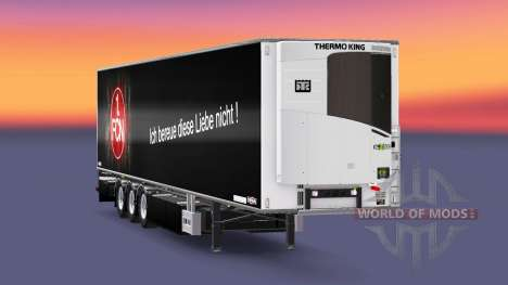Semi-Remolque Chereau 1. FC Nurnberg para Euro Truck Simulator 2