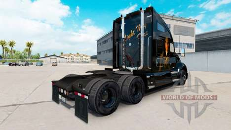 La piel de la Luz de mi Fuego en un Kenworth tra para American Truck Simulator