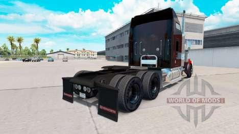 Hot rod de la piel para el Kenworth W900 tractor para American Truck Simulator