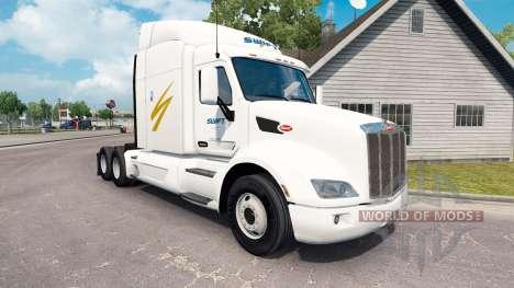 Swift Transporte de la piel para el camión Peter para American Truck Simulator