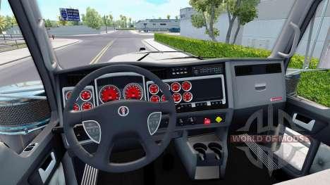 El color rojo de los dispositivos tienen un Kenw para American Truck Simulator
