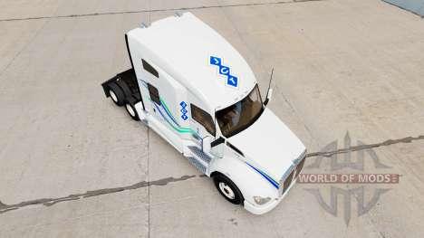 La piel de John Christner de Camiones en Kenwort para American Truck Simulator