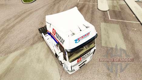 CSAD de la piel para Renault camión para Euro Truck Simulator 2