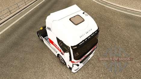 Andre Voss piel para Iveco tractora para Euro Truck Simulator 2