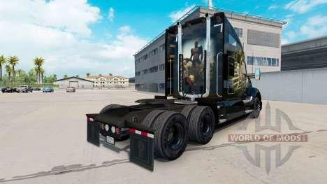La selva de la piel para el Kenworth tractor para American Truck Simulator