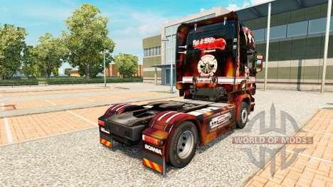 Apoyo 81 de la piel para Scania camión para Euro Truck Simulator 2