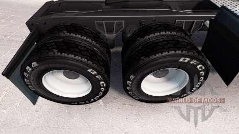 Neumáticos BF Goodrich v1.2 para American Truck Simulator