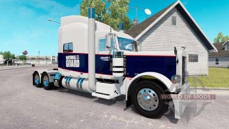 La piel de la Guardia Nacional para el camión Pe para American Truck Simulator