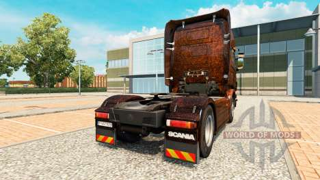 Ferrugem piel v2.0 camión Scania para Euro Truck Simulator 2
