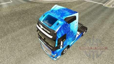 El agua de la piel para camiones Volvo para Euro Truck Simulator 2