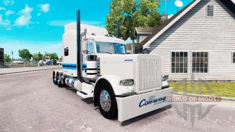 La piel de Con-way Freight para el camión Peterb para American Truck Simulator