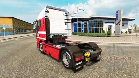 H. Essers de la piel para Iveco tractora para Euro Truck Simulator 2