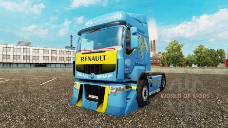 Optimización para Renault Premium para Euro Truck Simulator 2