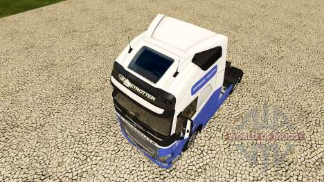 El H. Veldhuizen BV de la piel para camiones Vol para Euro Truck Simulator 2