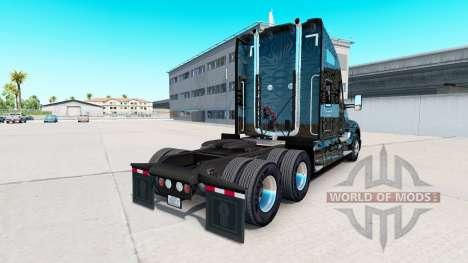 La piel de Camuflaje Rayas sobre un Kenworth tra para American Truck Simulator