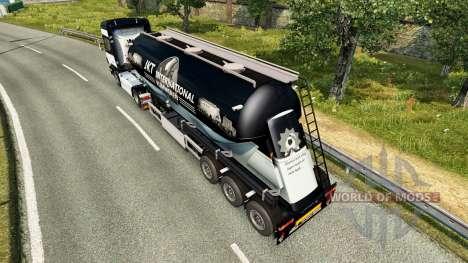 JKT Internacional de la piel para el semirremolq para Euro Truck Simulator 2