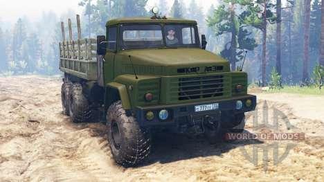 Kraz-260 para Spin Tires