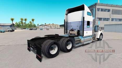 De la piel a Rayas Clásicas en el camión Kenwort para American Truck Simulator