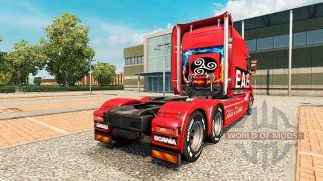 EAG de la piel para camión Scania T para Euro Truck Simulator 2