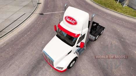 Simple de la piel para el camión Peterbilt para American Truck Simulator