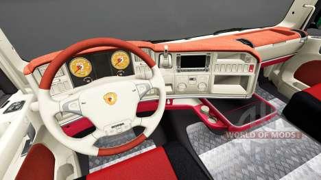 Interior FC Augsburg para Scania para Euro Truck Simulator 2
