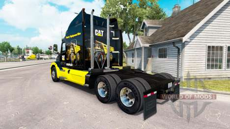 GATO de la piel para el camión Peterbilt para American Truck Simulator