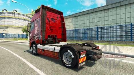 La piel De la Logística en Volvo trucks para Euro Truck Simulator 2