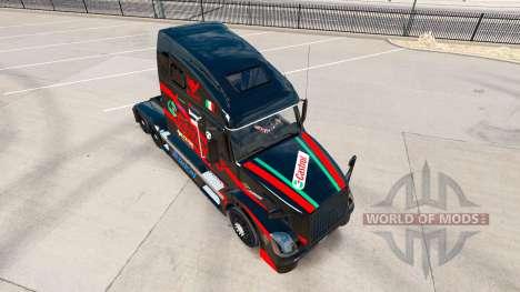 Castrol de la piel para camiones Volvo VNL 670 para American Truck Simulator