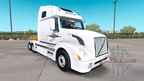 La piel de P. A. M. en el tractor Volvo VNL 670 para American Truck Simulator