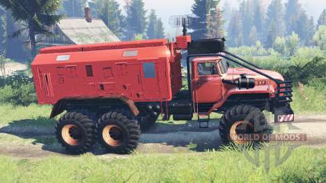 Ural-4320 Explorador Polar v12.0 para Spin Tires