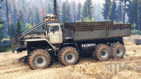 Ural-375 [mega] v2.0 para Spin Tires