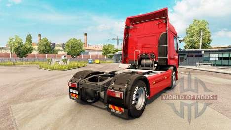 Norbert Dentressangle de la piel para Renault ca para Euro Truck Simulator 2