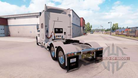 Peterbilt 389 v1.15 para American Truck Simulator