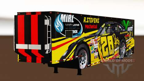 Trailer de la NASCAR v2.0 para American Truck Simulator
