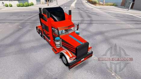 La piel para el camión Peterbilt 389 para American Truck Simulator