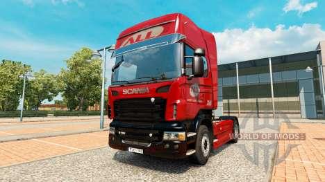 La América Latina Logistica de la piel para Scan para Euro Truck Simulator 2