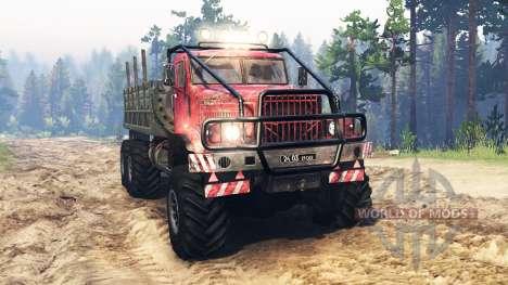 KrAZ-255 de la URSS para Spin Tires