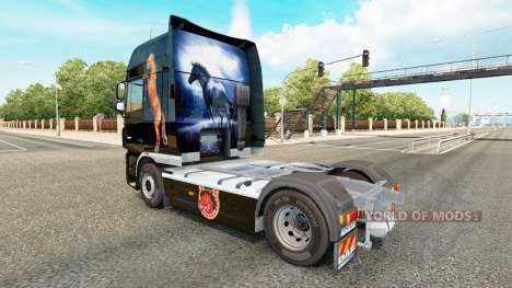 Caballos de la piel para DAF camión para Euro Truck Simulator 2