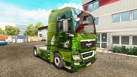 El Skin de La Leche y efectiva for the tractor S para Euro Truck Simulator 2